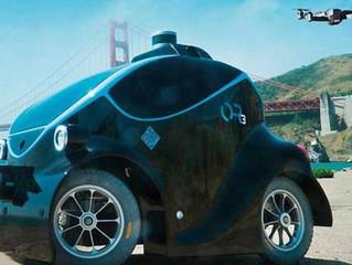 Dubai Police Force Unveil A New Driverless Miniature Police Car