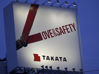 Japanese Auto Parts Maker, Takata Airbags, Find Themselves In Deep Water