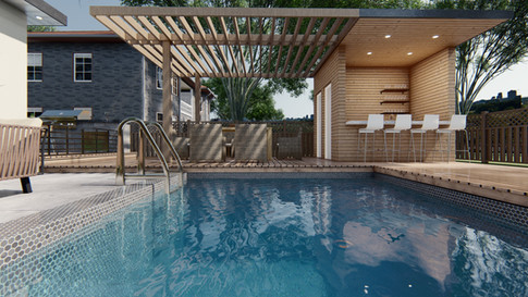 Scarbrough - Pool, Pergola and out door bar