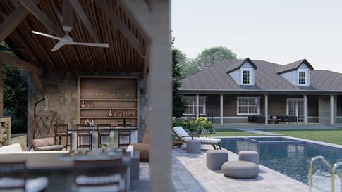 King - Pool House
