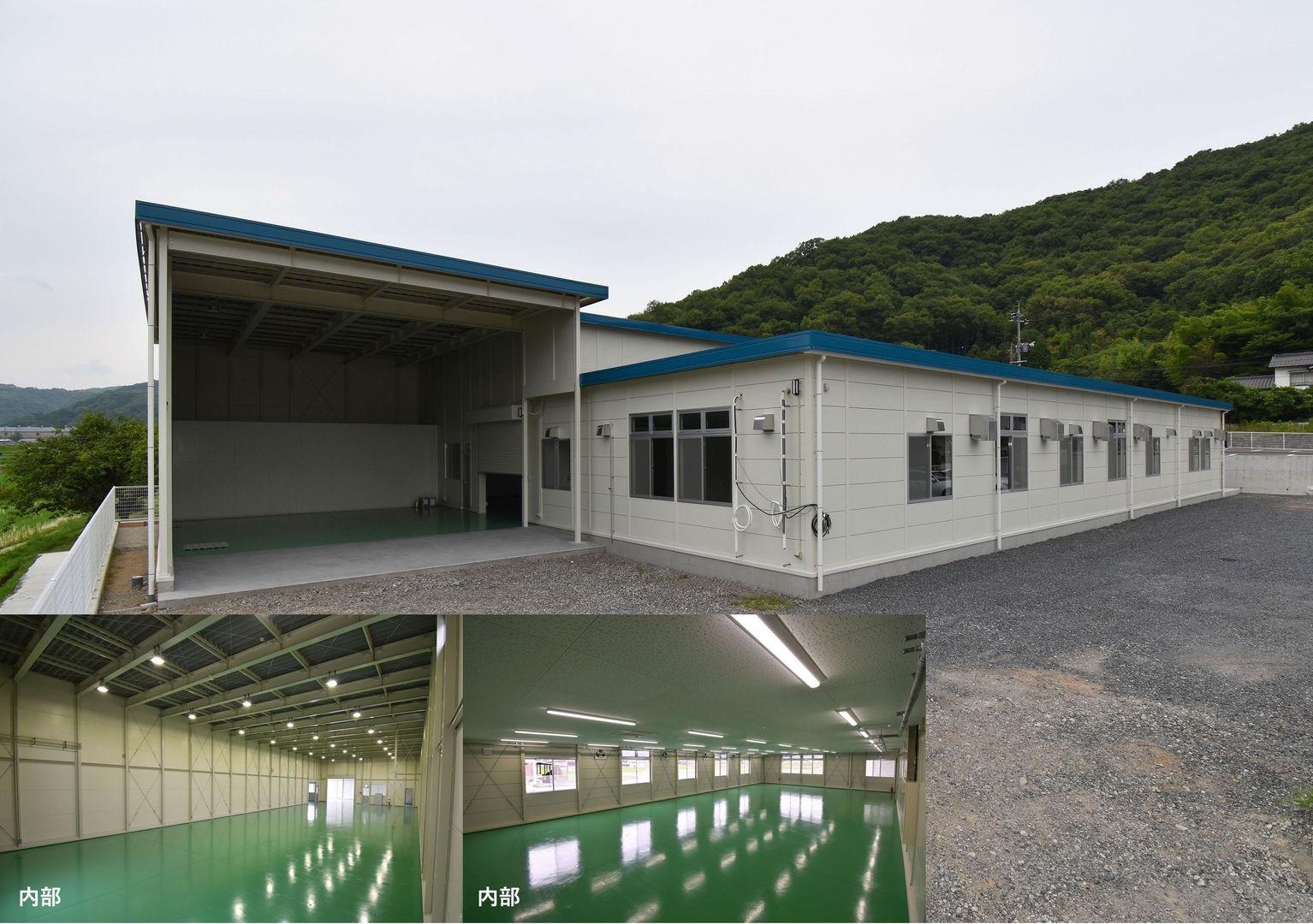 倉庫兼工場 ライト・ロッジ複合タイプ