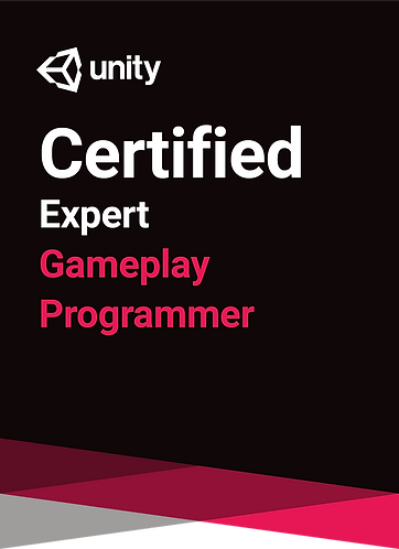 Unity Certified Expert: Gameplay Programmer