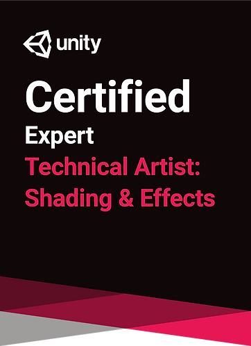 Unity Certified Technical Artist: Shading & Effects