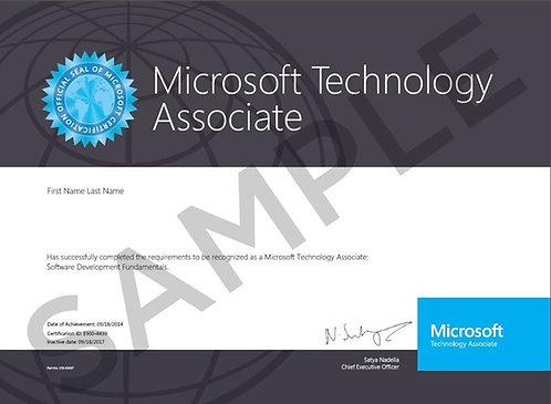 MTA Microsoft Technology Associate