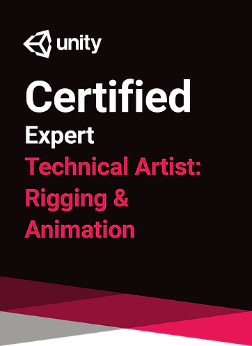 Unity Certified Technical Artist: Rigging & Animation
