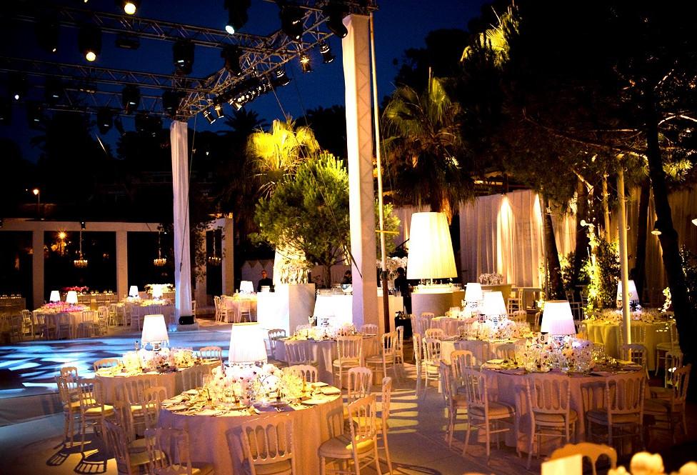 White Luxury Wedding plage de passable
