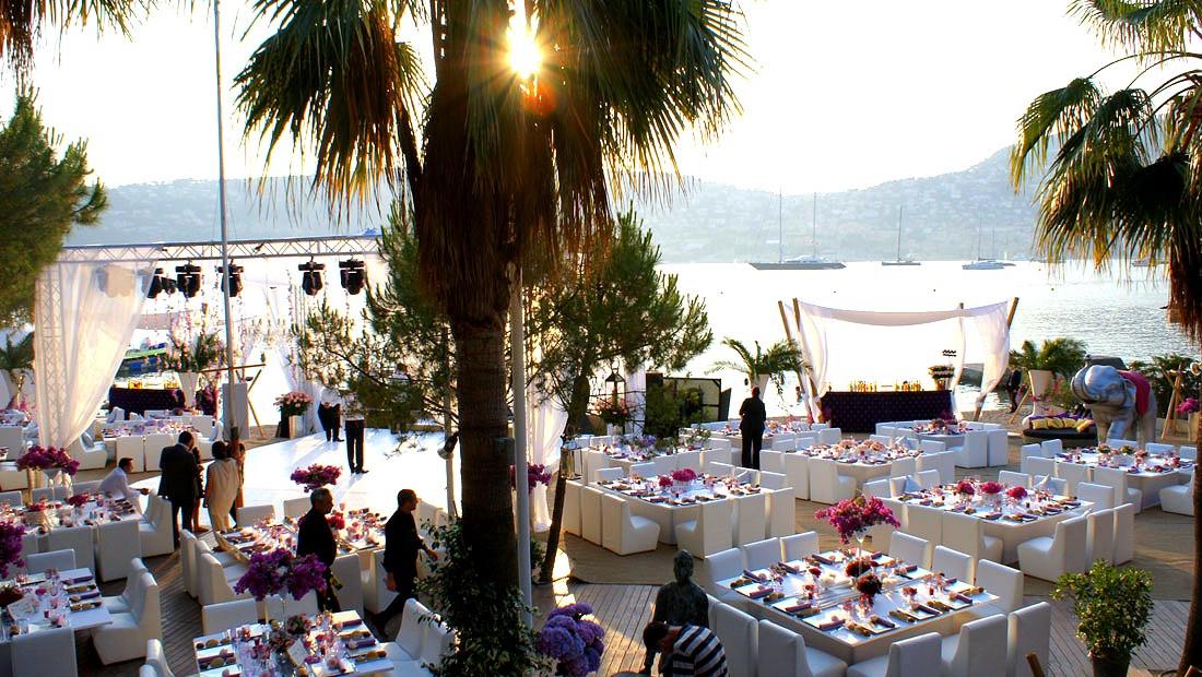 Outdoor Wedding Venue Saint Jean Cap Ferrat