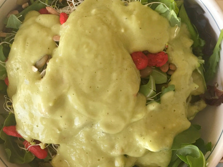 Creamelicious Avocado Dressing