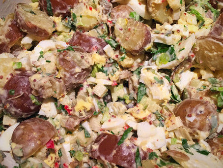 Herbaliscious Potato Salad