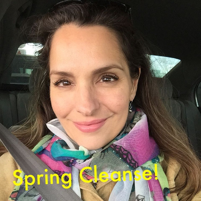 SPRING CLEANSE!