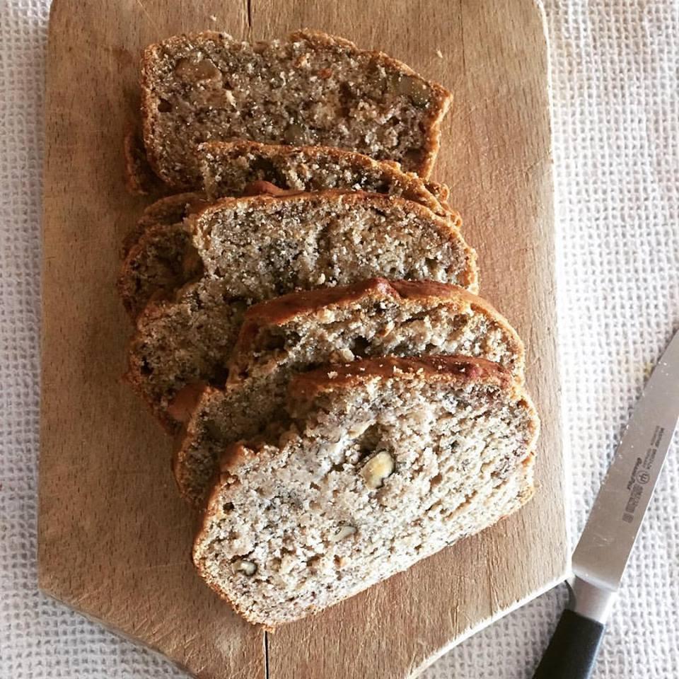 healthy banana bread gluten-free dairy-free