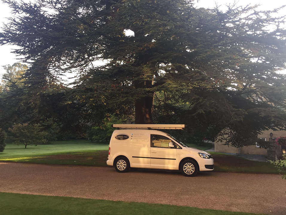 Low Voltage UK Ltd Van