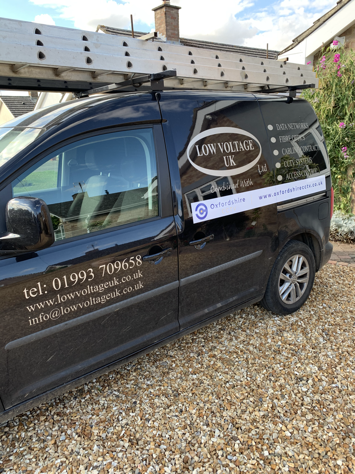 Low Voltage UK Van Signage, Print Design | Little Pixel Creative | Graphic Design Oxfordshire