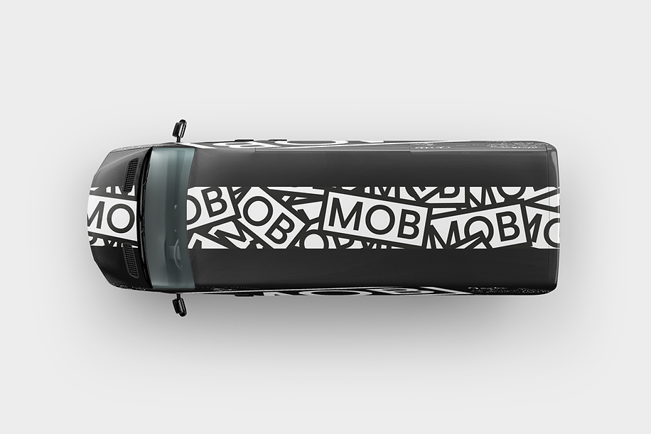 Mob Kitchen Van, Illustration | Little Pixel Creative | Graphic Design Oxfordshire