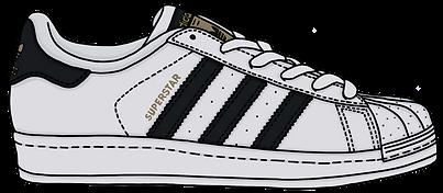 Superstar Sneaker, Illustration | Little Pixel Creative | Graphic Design Oxfordshire