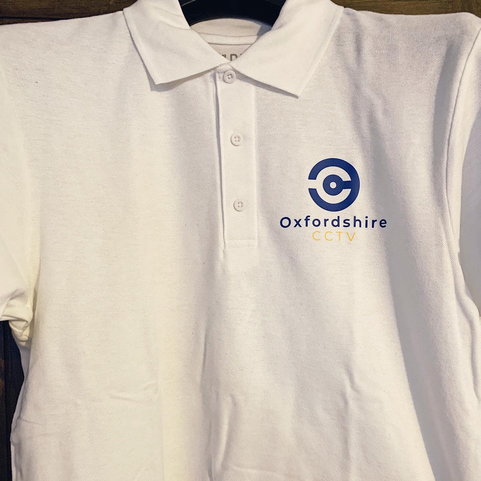 Oxfordshire CCTV Uniform, Print Design | Little Pixel Creative | Graphic Design Oxfordshire