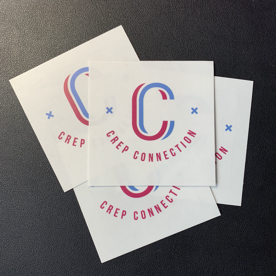 Crep Connection Stickers, Print Design | Little Pixel Creative | Graphic Design Oxfordshire087-4137-9AC0-8D66C4F06A31.hei