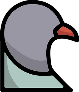 Staple Pigeon Logo | Little Pixel Creative | Graphic Design Oxfordshire