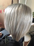 Hair By Harley Beth | Oxfordshire | Grey Long Bob