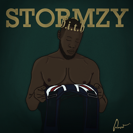 Stormzy Heavy is the Head, Illustration | Little Pixel Creative | Graphic Design Oxfordshire