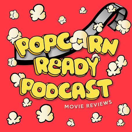 Popcorn Ready Podcast, Illustration | Little Pixel Creative | Graphic Design Oxfordshire