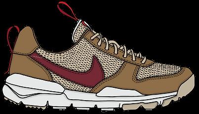 Nike Mars Landing Sneaker, Illustration | Little Pixel Creative | Graphic Design Oxfordshire