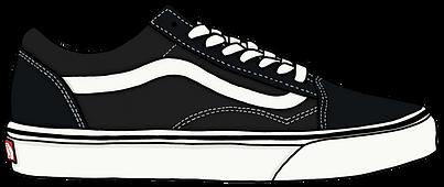Vans Old Skool Sneaker, Illustration | Little Pixel Creative | Graphic Design Oxfordshire