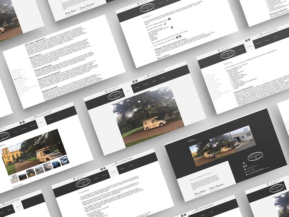 Low Voltage UK Web Design   Little Pixel Creative   Graphic Design Oxfordshire