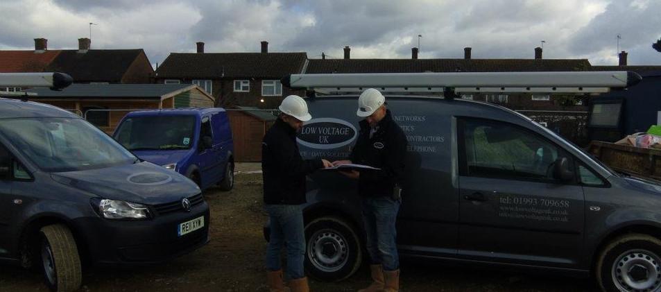 Low Voltage UK Ltd Gary and Jaimie