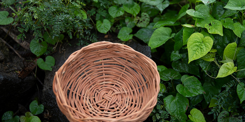 Basket Weaving: LGI March therapeutic event