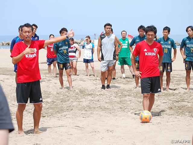 JFAビーチサッカー巡回クリニック