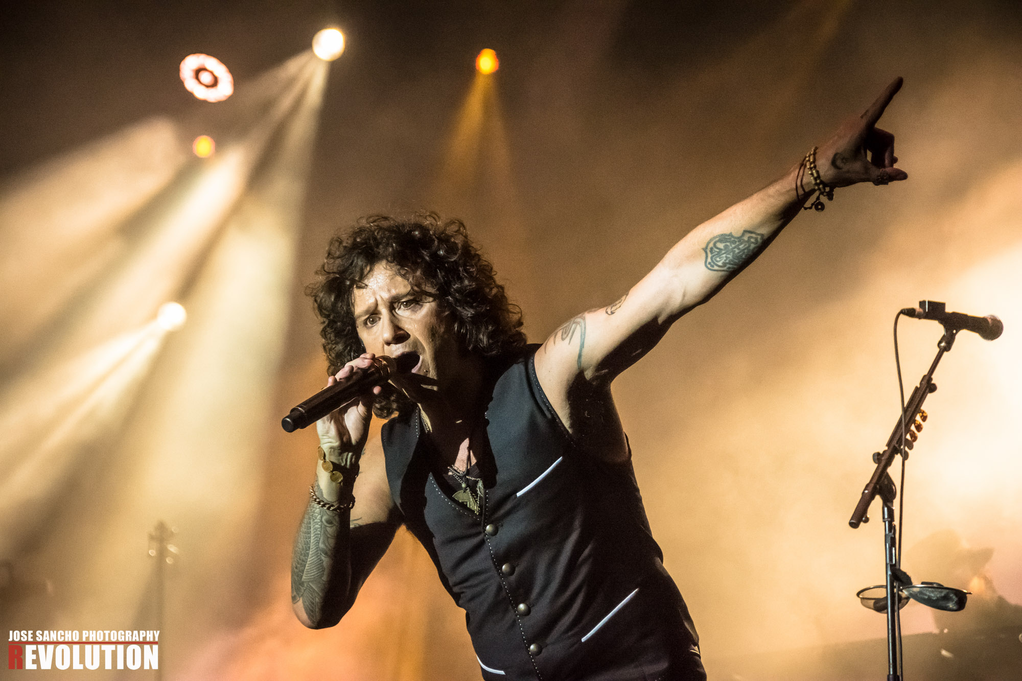 Enrique Bunbury - Jose Sancho Photography
