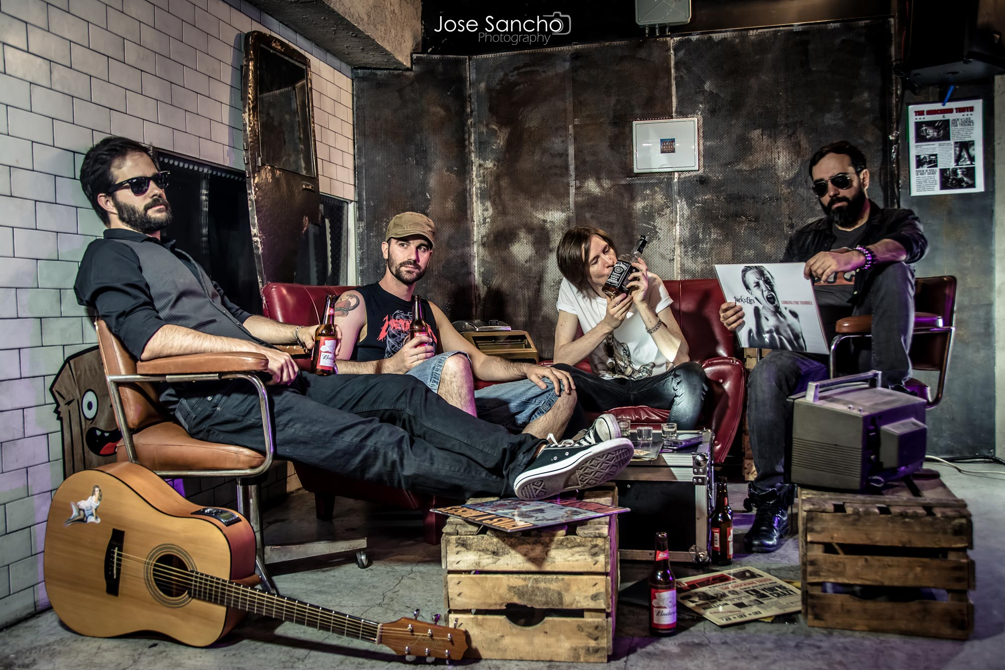 Jack n Lies - Portada - Jose Sancho Photography