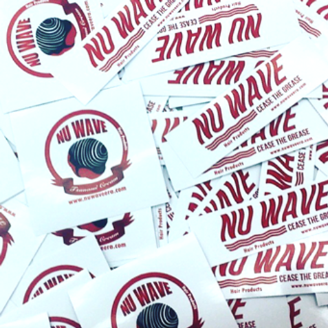 NU WAVE STICKERS