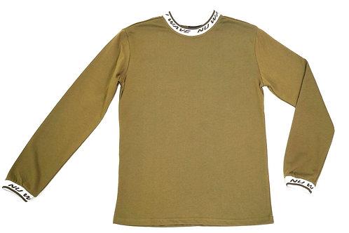 Green Logo Collar Shirt