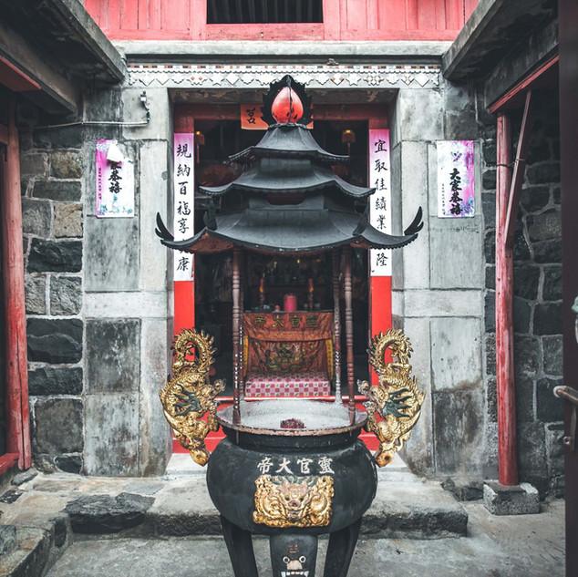 田沃境五靈公廟