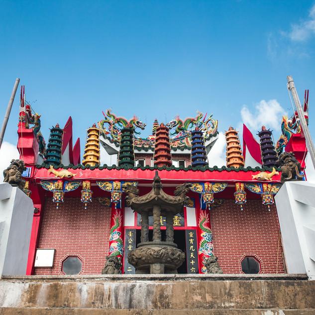 橋仔境山西靈台公廟