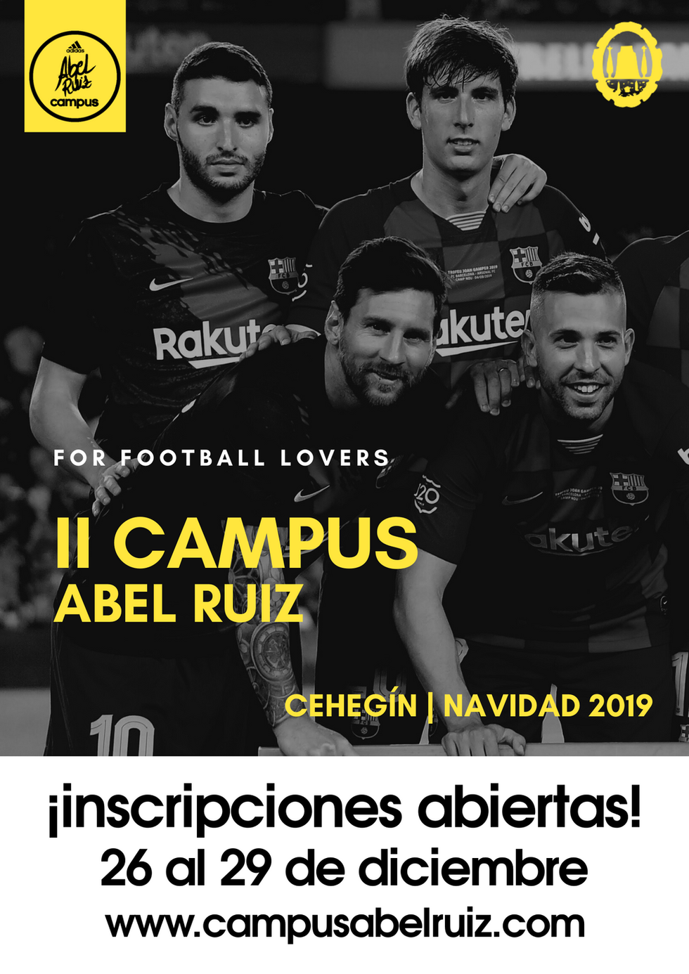 Anverso flyer III Campus Abel Ruiz 2019.