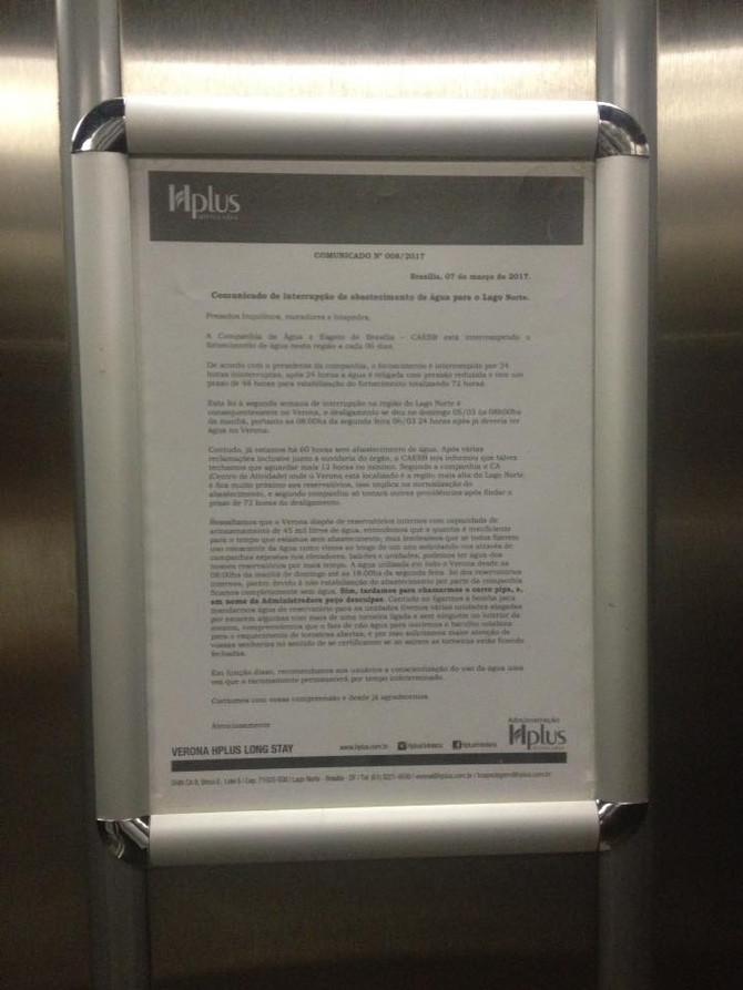 Enquanto isso, no elevador...