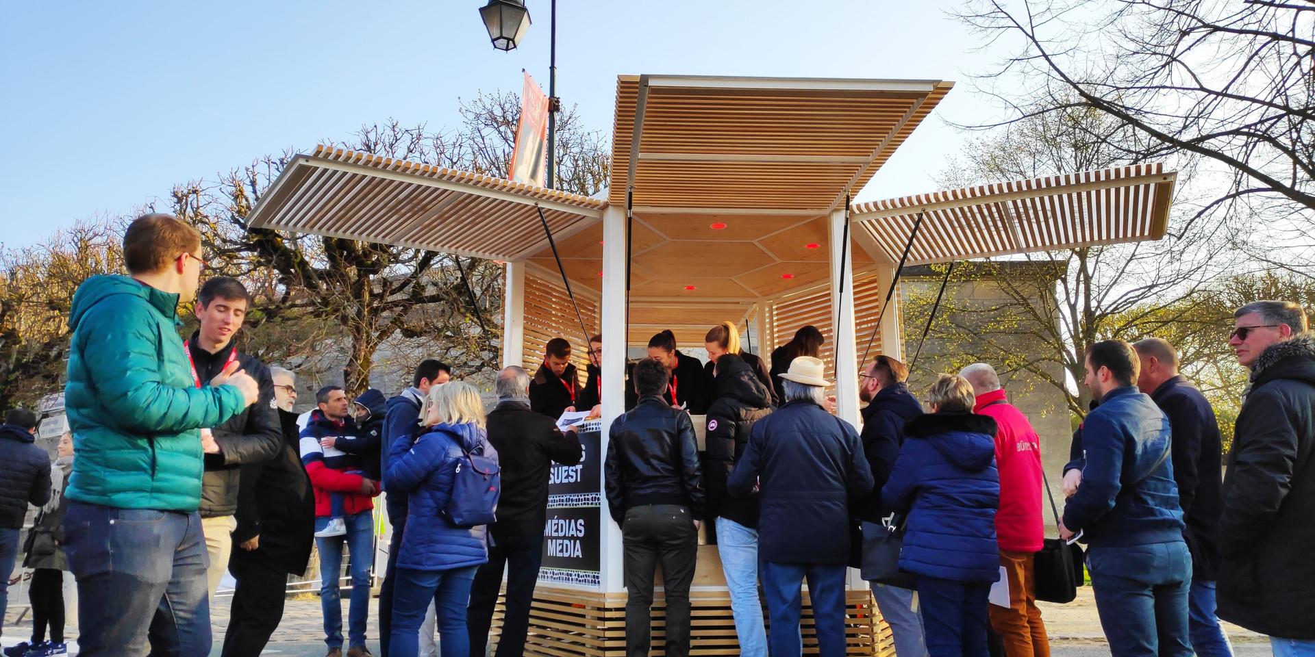 Kiosque Paris Roubaix