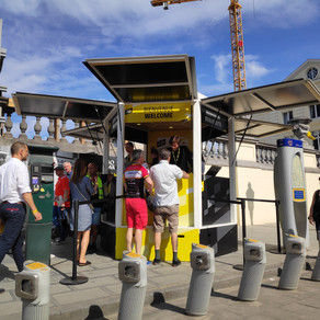 Le Kiosque au départ du Tour !