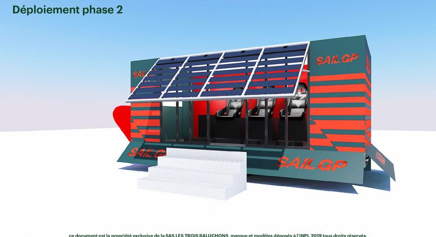 Pop-Up fauteuils VR SailGP déploiement p