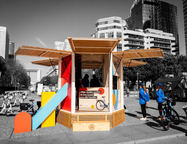 Le Kiosque cycliste capitaine de route