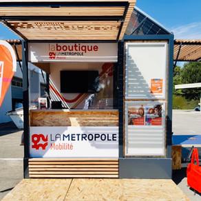Un Kiosque PICNIC pour la Métropole Mobilité