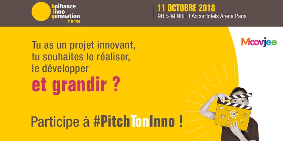 PICNIC est lauréat du concours #PitchTonInno organisé par la BPI et le MOOVJE