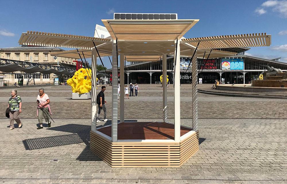 Kiosque autonome et mobile