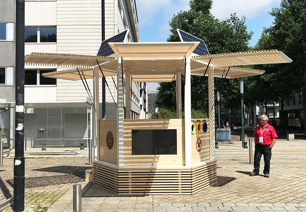 Kiosque autonome PICNIC