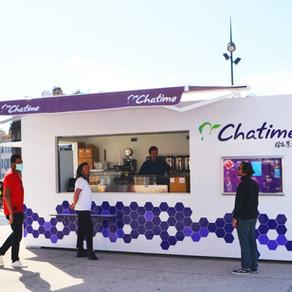 Le Pop-up Store Chatime s'installe sur le Parvis de la gare St Charles à Marseille