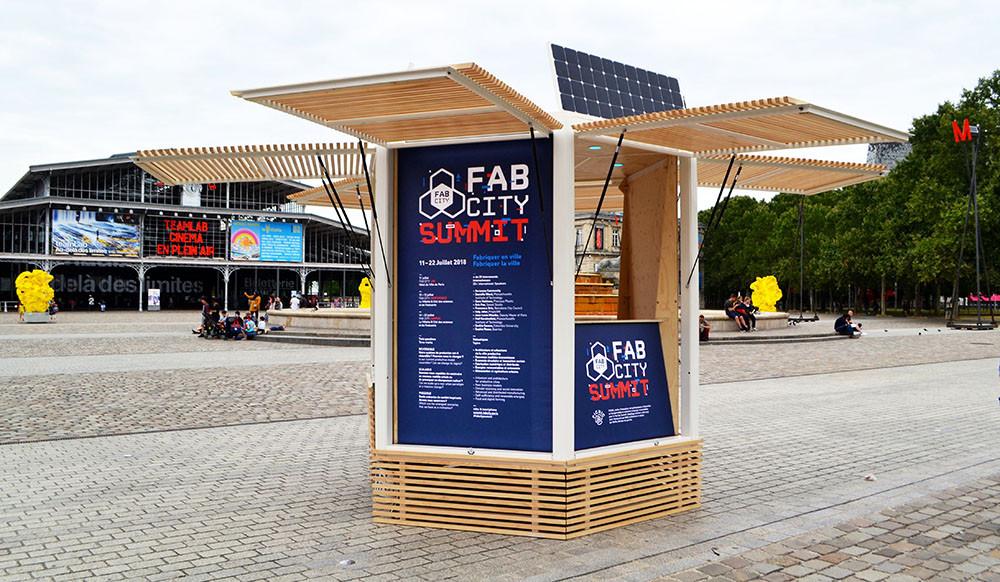 Kiosque FAB CITY