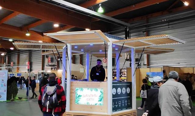 Kiosque autonome PICNIC d'information